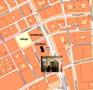 Karta Läkarhuset